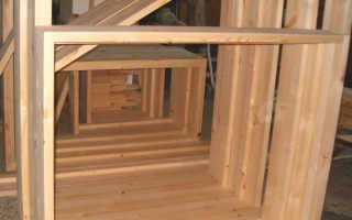 Деревянные окна своими руками — характеристика и правила изготовления