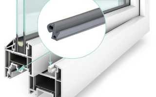 Как выбрать и заменить уплотнитель на пластиковых окнах