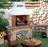 Простая инструкция, как сделать печь барбекю и мангал из кирпича на даче своими руками