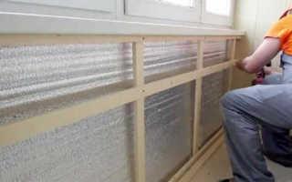 Сколько будет стоить утепление балкона своими руками; примерная смета и советы
