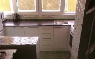 Можно ли перенести кухню на балкон в квартире