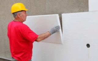 Как правильно утеплять стены дома пенопластом с внешней стороны