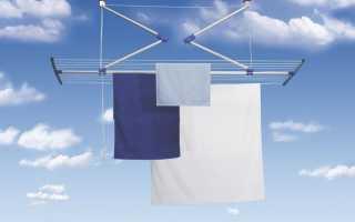 Плюсы и минусы 6 видов потолочных сушилок для белья на балкон