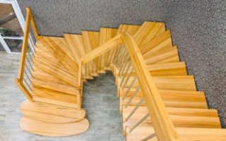 Как закрепить лестницу на второй этаж своими руками