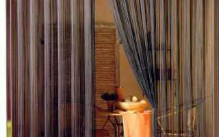 Как красиво и оригинально оформить дверной проем различными висюльками
