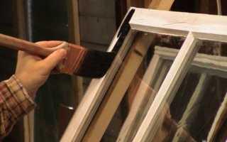 Как покрасить деревянные оконные рамы правильно