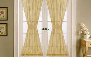Дверные шторы; лучшие идеи оформления красивых шторок (85 фото)