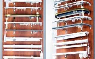 Варианты профильных потолочных карнизов для штор (12 фото)