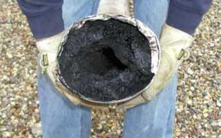 Народные средства и способы чистки дымоходов печи