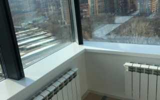 Можно ли выносить батарею на балкон, законность решения и его последствия