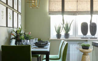 Оформление окна на кухне: правила, тренды и 50 фото для вдохновения