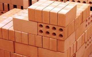 Как посчитать количество кирпича на стену