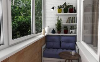 Как организовать место для хранения на балконе