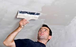 Потолок из гипсокартона: особенности отделки