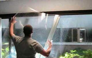 Инструкция по самостоятельной тонировке окон в квартире
