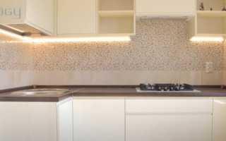 Как самостоятельно сделать светодиодную подсветку на кухне