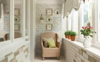 Чем лучше отделать стены на лоджии — варианты материалов