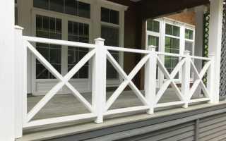Деревянные ограждения для балконов и террас