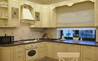 Дизайн кухни с окном (100 реальных фото)