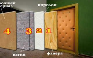 Секреты правильной обивки двери кожей: свойства материала, требуемые инструменты, этапы работы фото