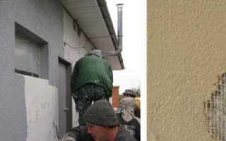 Как и чем оштукатурить пенобетонные стены