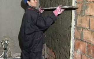 Как выровнять стены в кирпичном доме