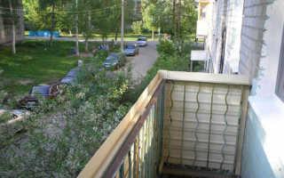 Пример отделки балкона пластиковыми панелями своими руками