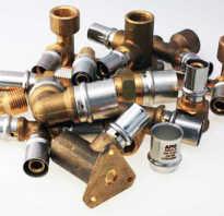 Соединение (фитинги) металлопластиковых труб
