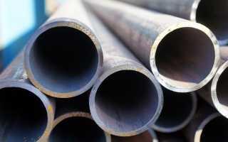 Труба круглая стальная: виды и применение
