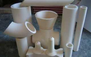 Современные керамические трубы как вариант для домашнего трубопровода