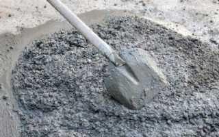 Каковы пропорции изготовления бетона для заливки отмостки вокруг дома