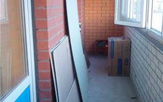 Инструкция по утеплению балкона