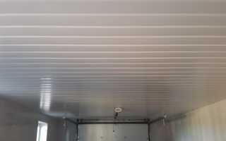 Варианты дешевой и красивой обшивки потолка в гараже своими руками