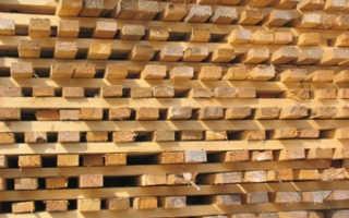 Как правильно хранить древесину, пиломатериалы и доски