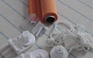 Как самостоятельно крепить рулонные шторы на пластиковые окна
