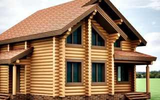 Как утеплить дом из оцилиндрованного бревна снаружи