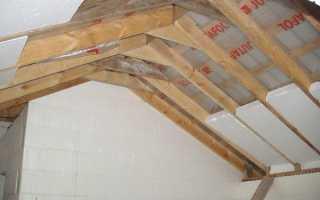Технология утепления крыши при помощи пенопласта