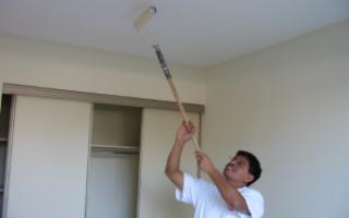 Технология покраски потолка; полезные советы и рекомендации специалистов