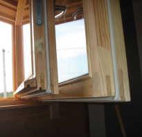 Технология утепления деревянных окон