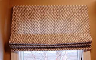 Пошив римских штор своими руками в домашних условиях