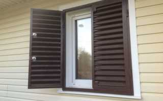 Ставни на окна; разнообразные виды, варианты изготовления и особенности выбора моделей (145 фото)