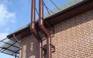 Дымоходы для газового котла в частном доме: как выбрать и установить
