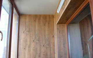 Отделка балкона панелями МДФ; пошаговая инструкция