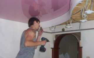 Инструкция по монтажу натяжных потолков своими руками