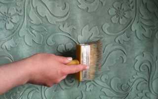 Как происходит покраска декоративной штукатурки