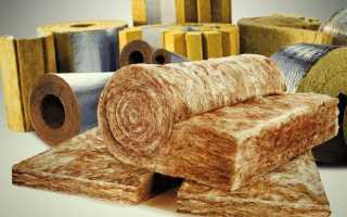 Утепление стен жесткими минераловатными плитами