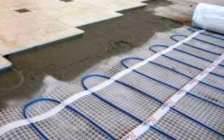 Теплый пол на балконе или лоджии под плитку: как обустроить