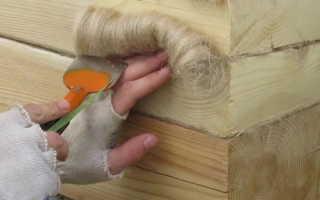 Чем и как конопатить дом из бруса своими руками: материалы и пошаговые инструкции