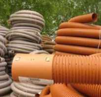 Гибкая канализационная труба из пластика; преимущества и недостатки