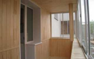 Пропитки и покрытия для вагонки на балконе